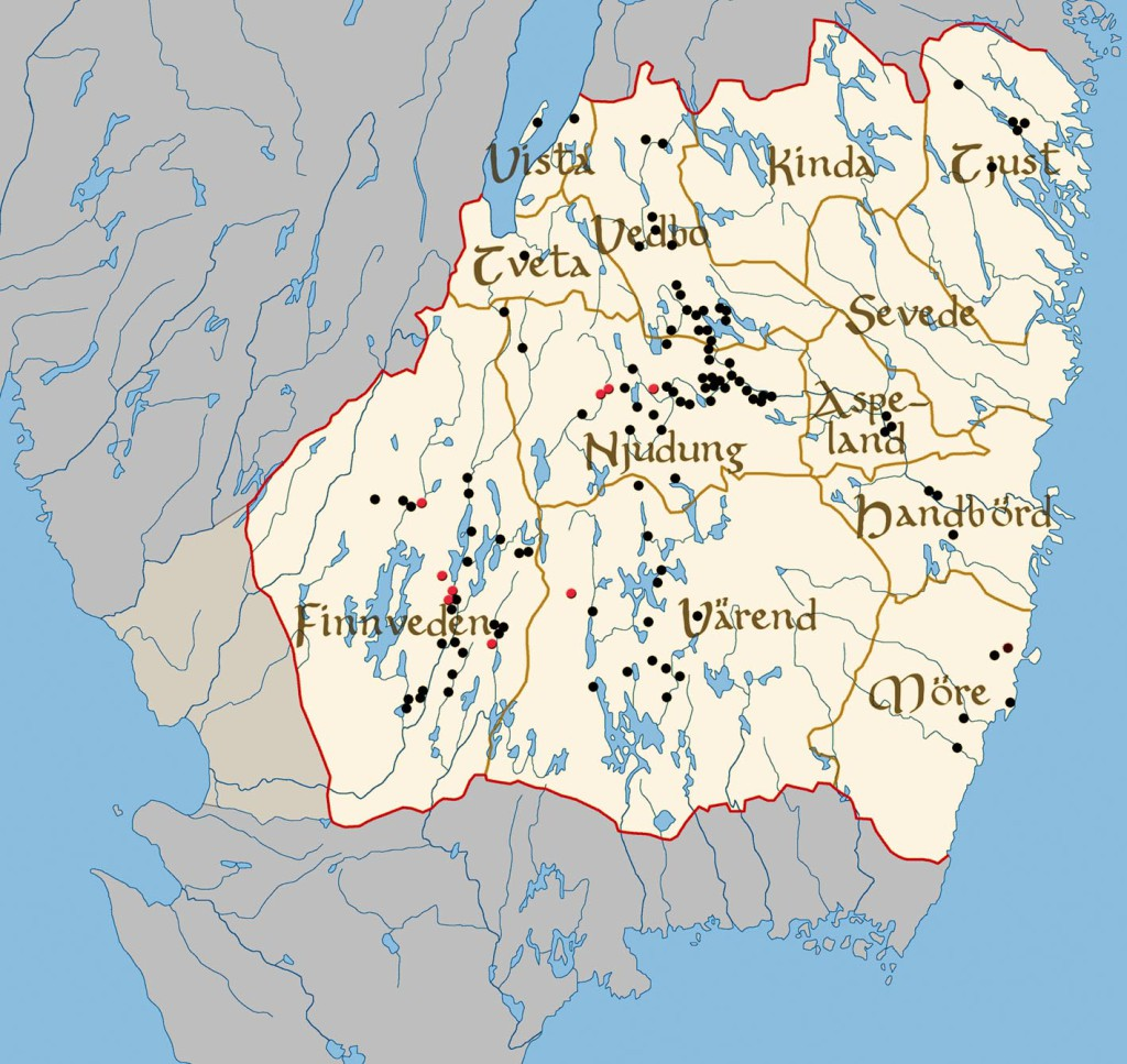 Map_of_landscape_Smaland_Sweden