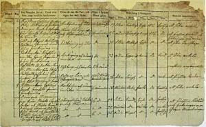 passjournallista Jönköping mars 1813