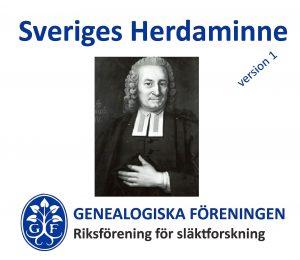 Omslaget till Sveriges Herdaminne, version 1
